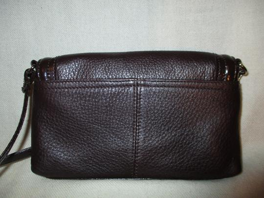 Stone Mountain Accessories Leather Patent Cross Body Bag Image 7