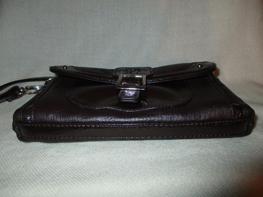 Stone Mountain Accessories Leather Patent Cross Body Bag Image 9