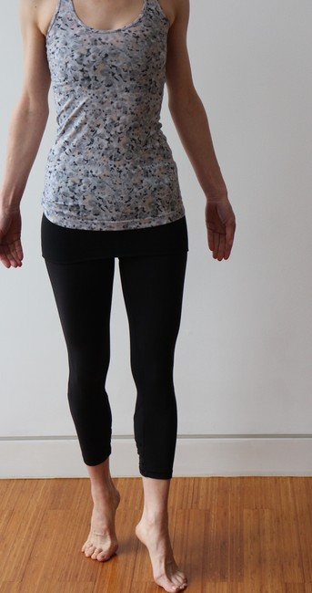 Lululemon Black Dance Se Skirted Wunder Under Activewear Leggings Image 4