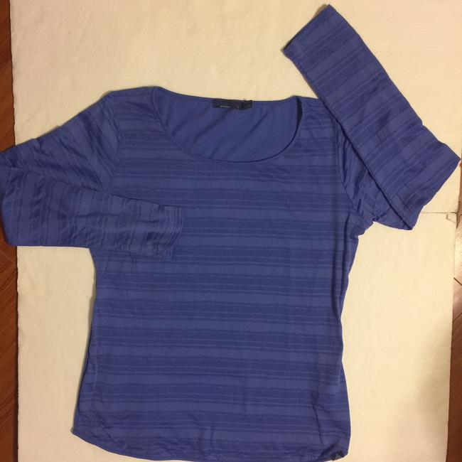 prAna T Shirt Blue/Purple Image 3