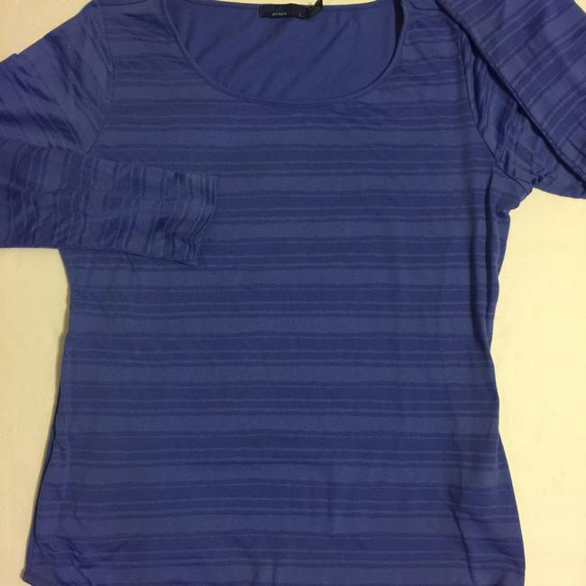 prAna T Shirt Blue/Purple Image 4
