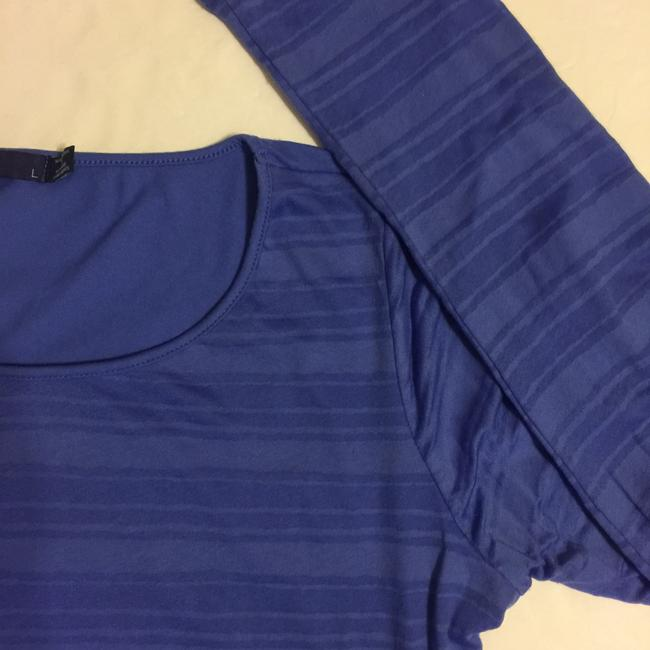 prAna T Shirt Blue/Purple Image 5