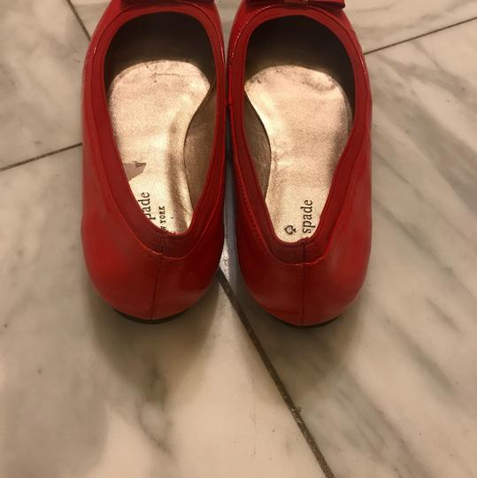 Kate Spade Red Flats Image 1