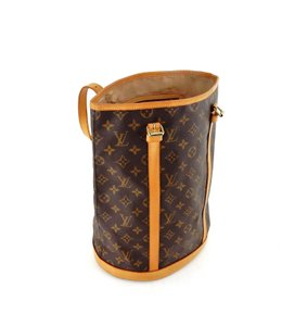 Louis Vuitton Bucket France Monogram Vintage Shoulder Bag
