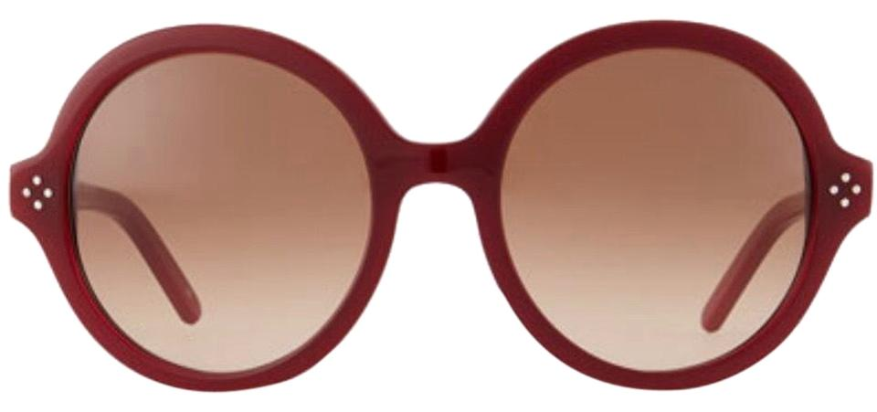 66298c3cac Red Boxwood Round Sunglasses