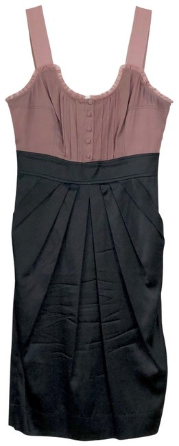 Preload https://img-static.tradesy.com/item/23167217/marciano-black-and-mauve-cocktail-short-night-out-dress-size-0-xs-0-1-650-650.jpg