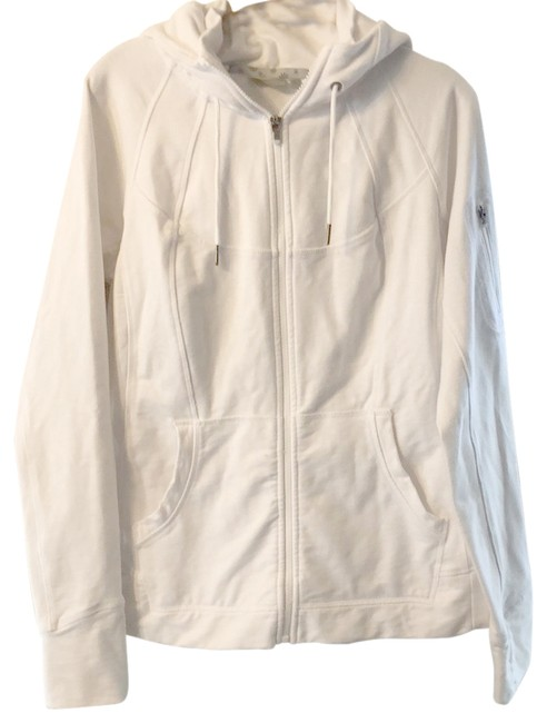 Item - White Sweater Activewear Size 12 (L)