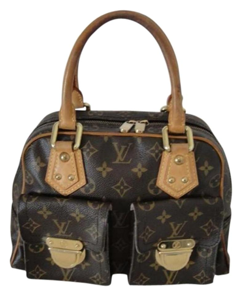 d52d9473d0b6 Louis Vuitton Manhattan Pm Monogram Canvas Satchel - Tradesy