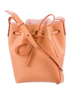 Mansur Gavriel Summer Bucket Leather Crossbody Shoulder Bag