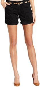 Sanctuary Cuffed Shorts Black