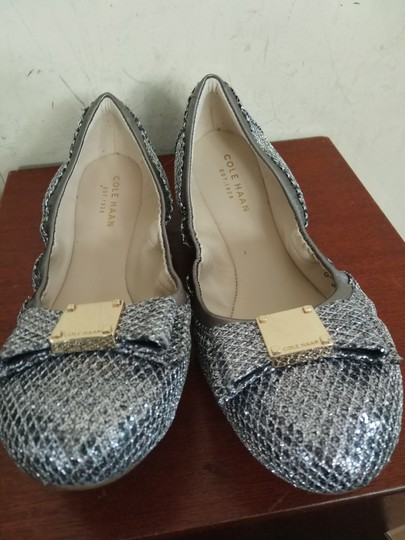 Cole Haan Silver Flats Image 1
