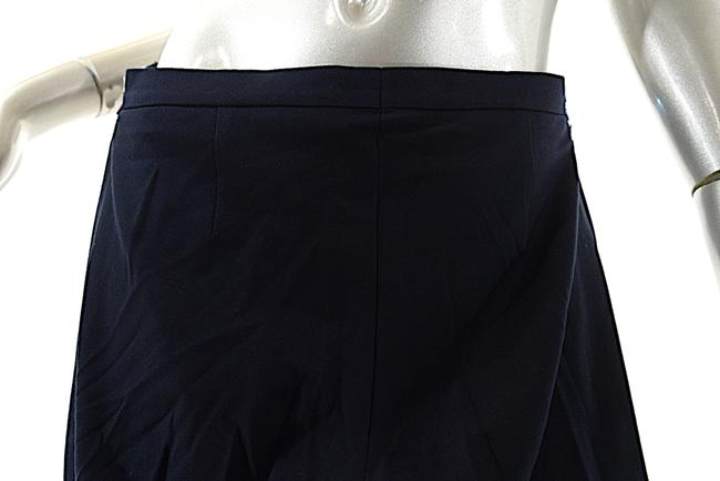 Jil Sander Clean Front Cuffs Straight Pants Navy Image 4