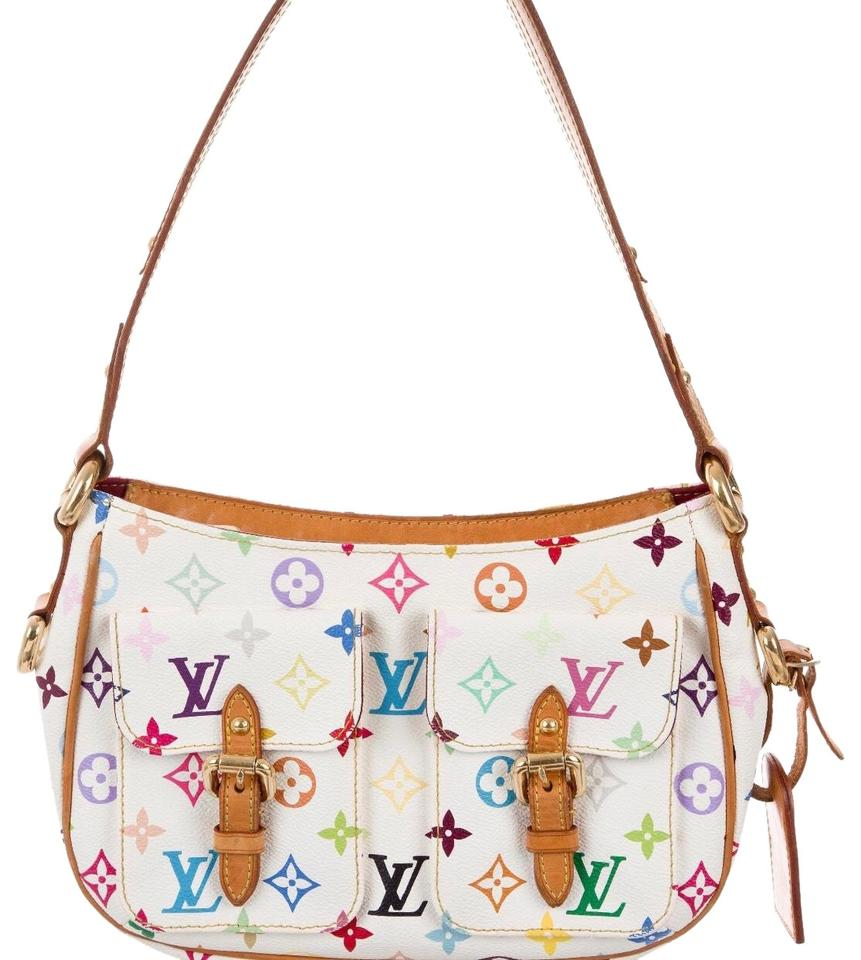 185470834d82 Louis Vuitton Multicolor Takashi Murakami Lodge Pm Limited Edition Shoulder  Bag Image 0 ...