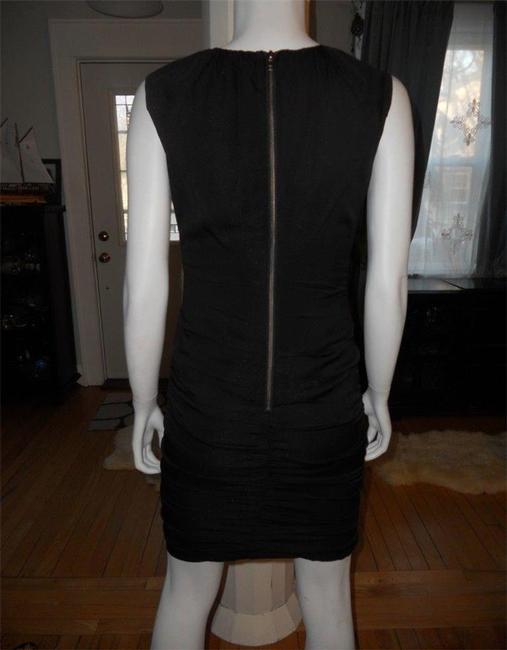 Diane von Furstenberg short dress Black Ruched Tulipan Dvf on Tradesy Image 2