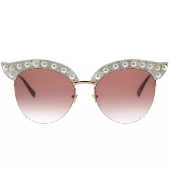 Gucci faux pearl cat eyes Image 4