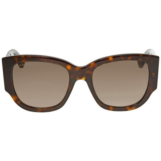 754c928bff Gucci Brown Havana Gradient Multi-color Unisex Sunglasses - Tradesy