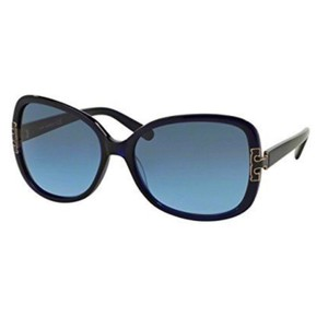Tory Burch Tory Burch TY7022 Navy Blue Gradient Lens Sunglasses