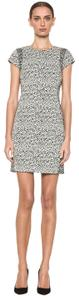 Diane von Furstenberg Dvf Pele Stretch Snake Wave Jacquard Dress