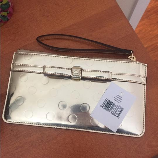 Kate Spade gold Clutch Image 1