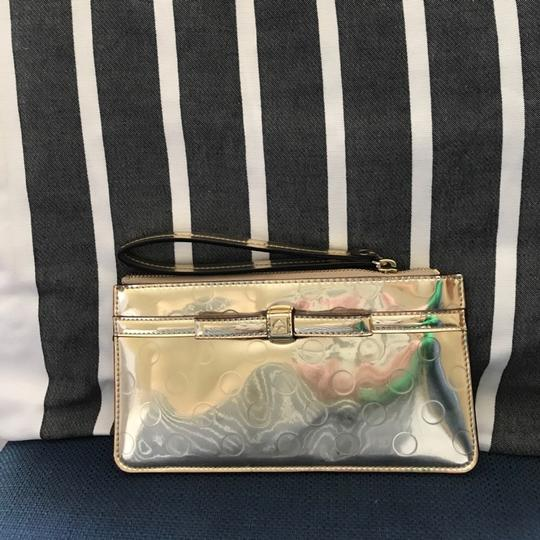 Kate Spade gold Clutch Image 2