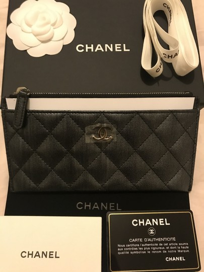 Chanel Classic O Case Phone Case Pouch Wallet Card Holder Image 7