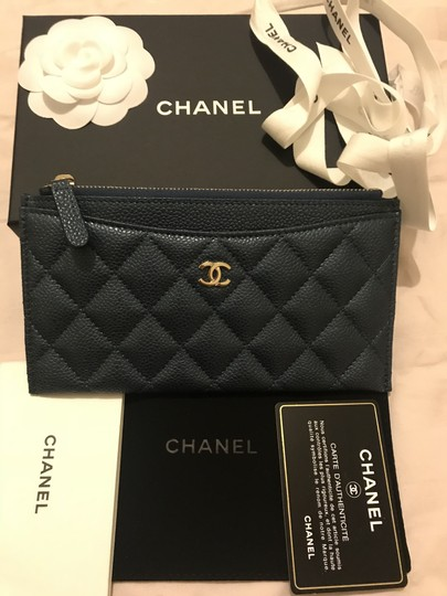 Chanel Classic O Case Phone Case Pouch Wallet Card Holder Image 6