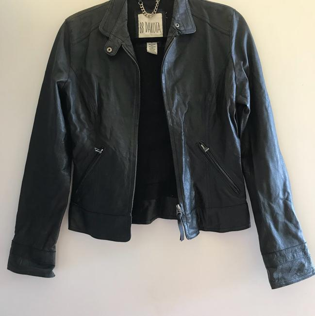 BB Dakota Leather Jacket Image 3