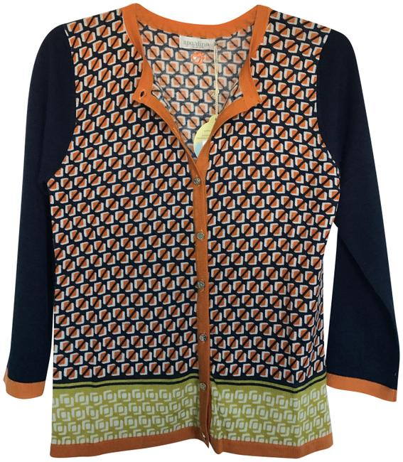 Preload https://img-static.tradesy.com/item/23168110/spartina-449-multicolor-sweater-xs-merino-wool-34-sleeves-button-down-top-size-2-xs-0-1-650-650.jpg