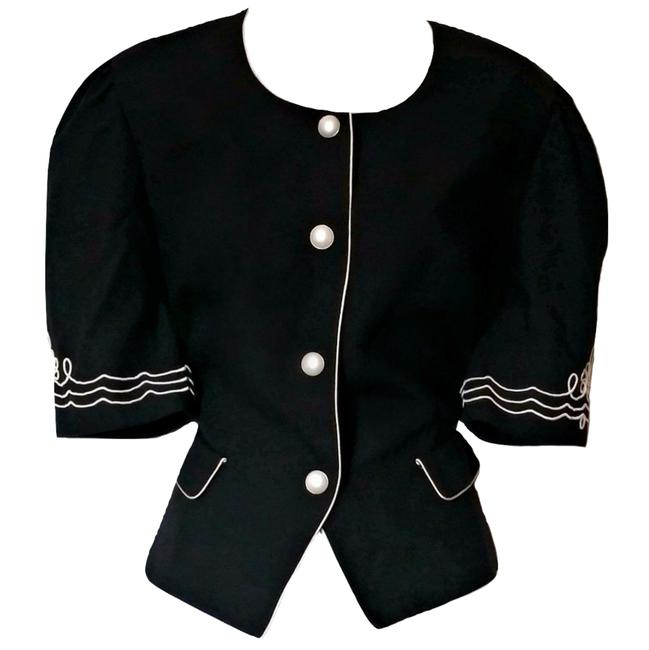 Preload https://img-static.tradesy.com/item/23168126/black-nautical-pearls-button-pearl-retro-50s-pin-up-blouse-size-6-s-0-0-650-650.jpg