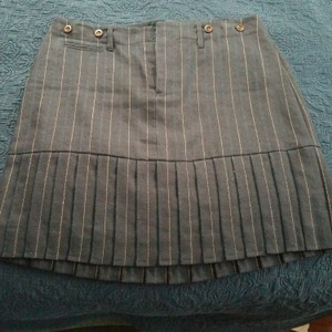 Rugby Ralph Lauren Mini Skirt Navy Blue with Royal Blue strips