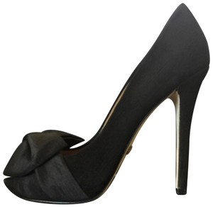 Badgley Mischka Badgleymischkapumps Badgleymischkapeptoe Badgleymischastileto Black Platforms