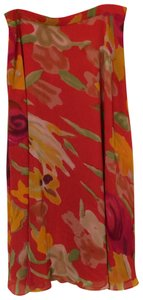 Coldwater Creek Skirt red