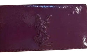 Saint Laurent Saint Laurent Long Patent Leather Wallet