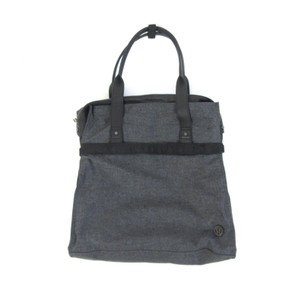Lululemon Gym Wool Athletic Tote in Gray / black