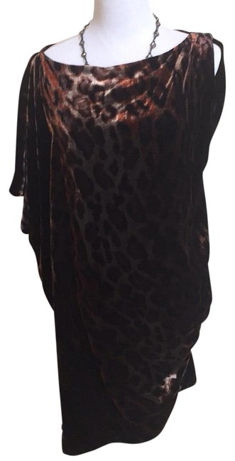 Item - Bronze Nwot- Velvet Mid-length Night Out Dress Size 4 (S)