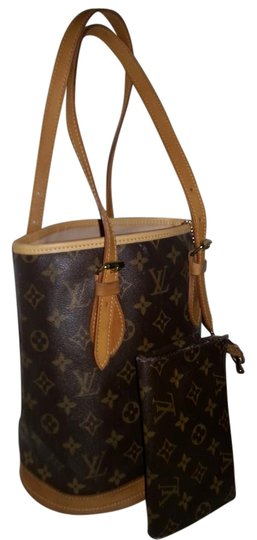 Preload https://img-static.tradesy.com/item/2316896/louis-vuitton-w-bucket-pm-w-pouch-brown-leather-and-canvas-shoulder-bag-0-2-540-540.jpg