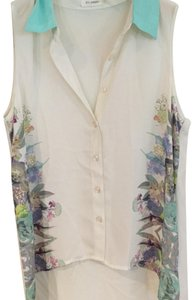 Blu Pepper Top white, multi