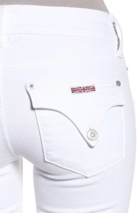 Hudson Stretchy Fitted Straight Leg Jeans