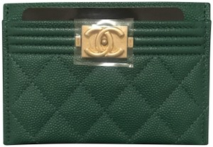 Chanel Le Boy Credit Card Case Pouch Holder