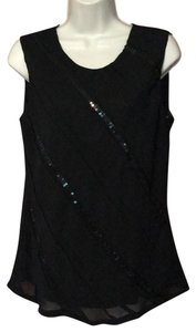 The Limited Top black on black with sequins