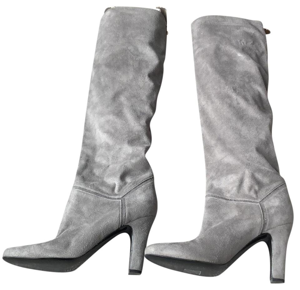 women Stella Cheaper McCartney Grey Tall Boots/Booties Cheaper Stella than the price bbe537