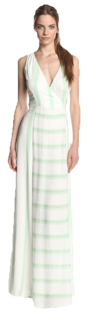 Green and White Maxi Dress by Ella Moss Anabel Maxi