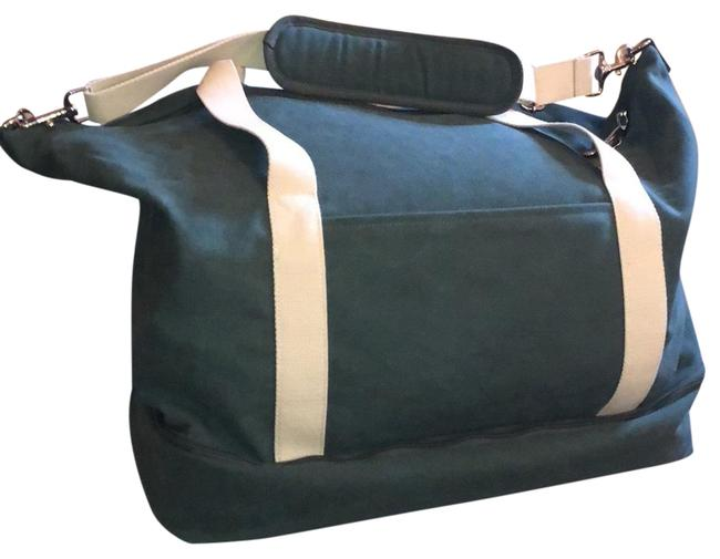 Item - Catalina Deluxe Large Forest Green Canvas Weekend/Travel Bag