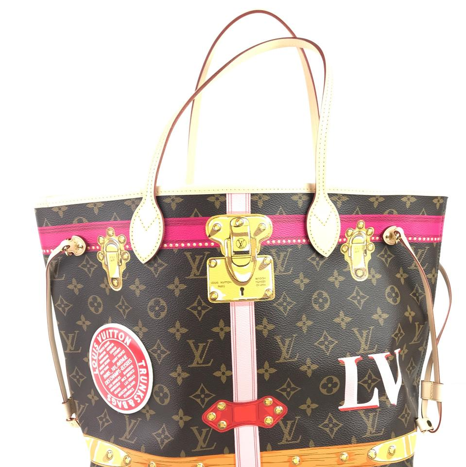 a7c41ca28abe Louis Vuitton Neverful Trunk Collection Mm Monogram Tote - Tradesy
