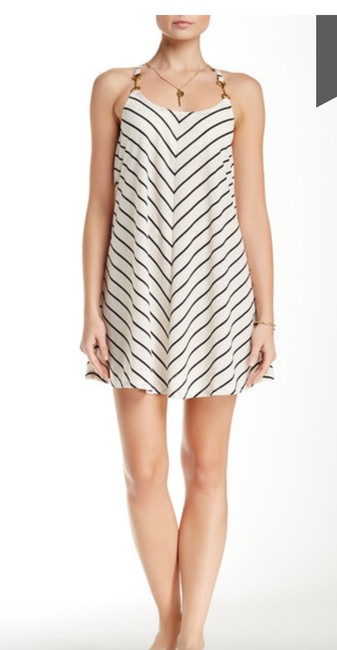 Julie Brown short dress White and Navy Jb By Jb Nautical on Tradesy