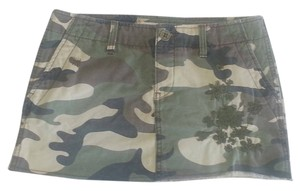 Roxy Mini Skirt Camo