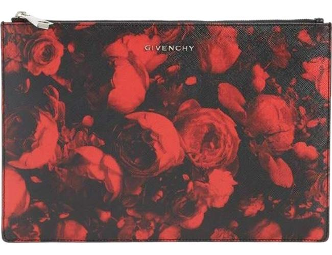 Givenchy Red and Black Clutch Givenchy Red and Black Clutch Image 1