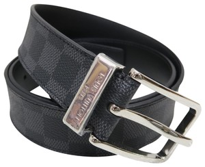 Louis Vuitton Louis Vuitton Damier Graphite Pont Neuf Belt