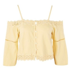 Topshop Top yellow