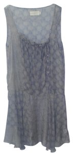 Love & Liberty short dress Blue Flowy Sheer Bohemian Summer on Tradesy